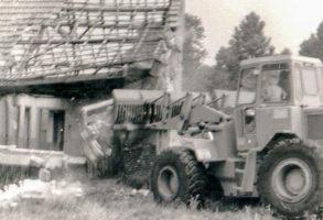 1971 excavateur d'occasion