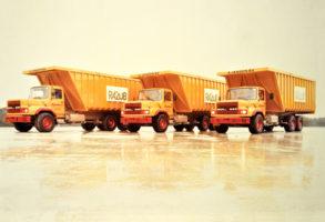 1978 Expansion avec la filiale Transport et Location