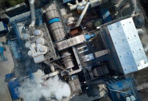 2017 Ouverture de la première installation de nettoyage thermique TRI