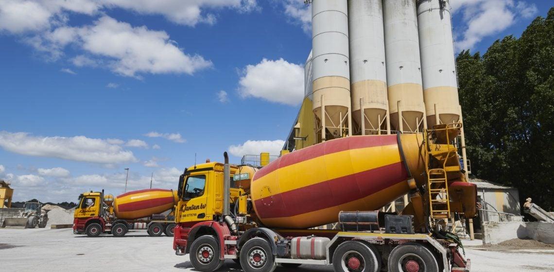 betonwagen geopolymeer