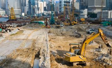 vervuilde grond; bouwlocatie; bodemonderzoek