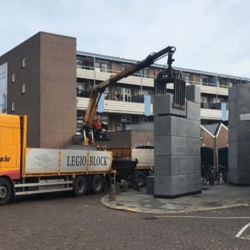 Legioblock bij de Dutch Design Week
