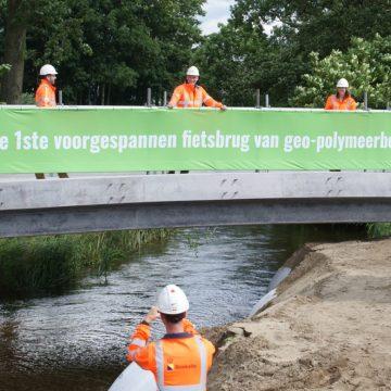 Toegepast beton voor Dommelse fietsbrug 60% duurzamer