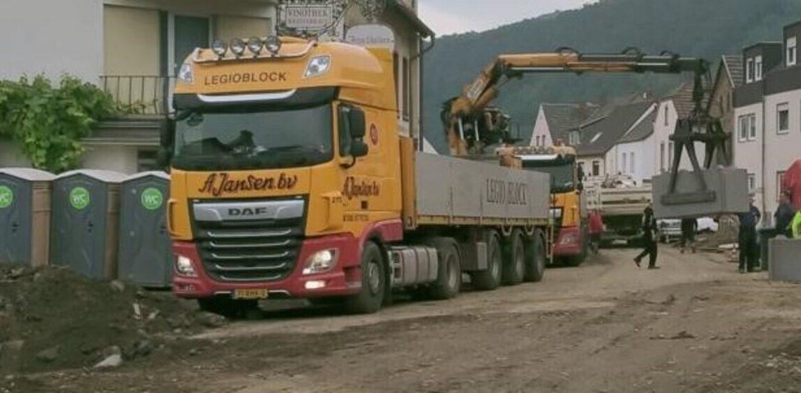 A Jansen Legioblock Duitsland