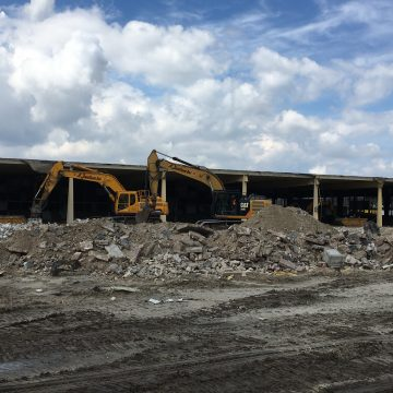 Terrein bouwrijp maken in Etten-Leur